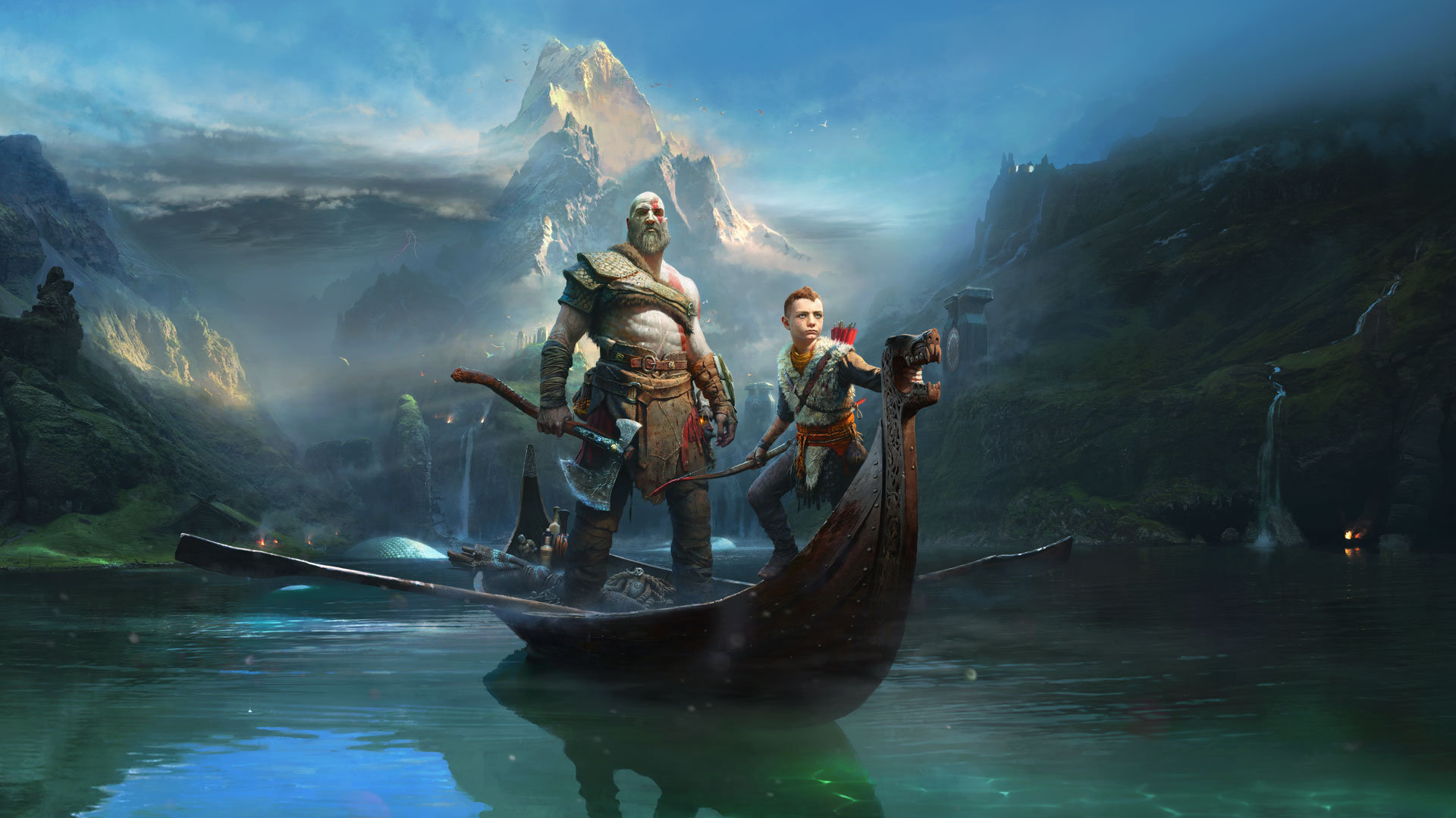 God Of War 4 2018, HD Games, 4k Wallpapers