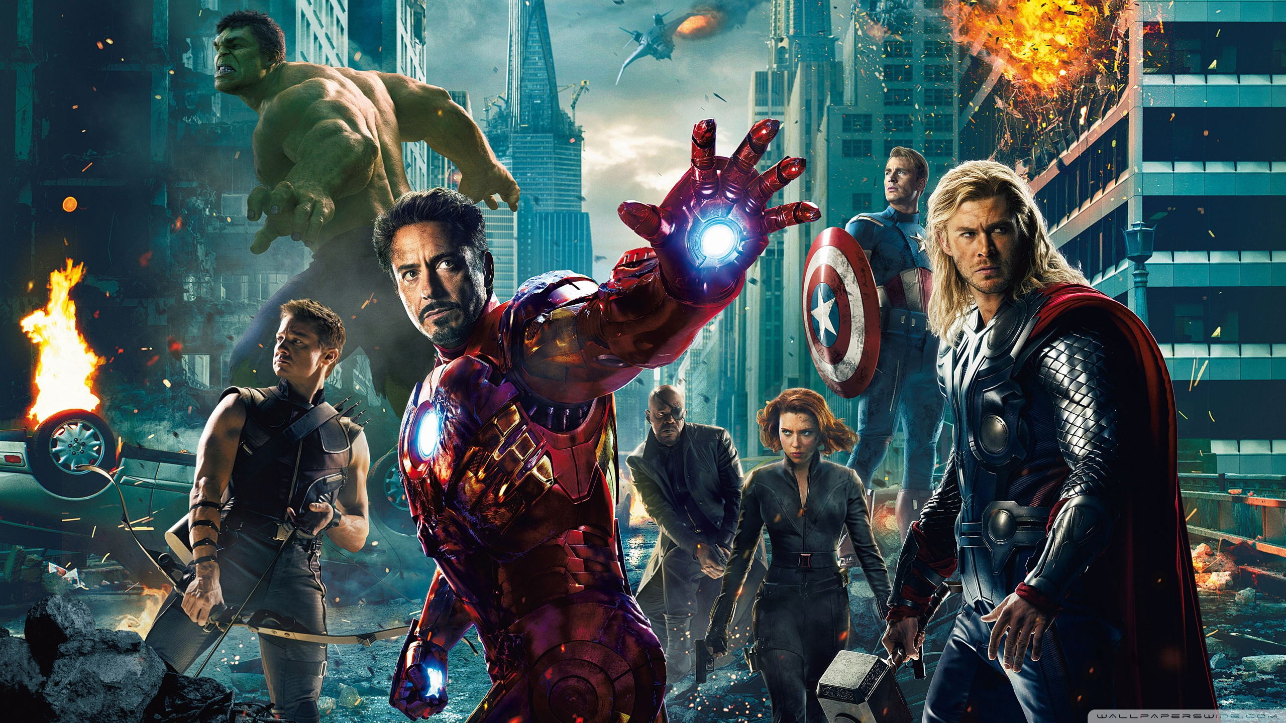 The Avengers UHD Wallpaper