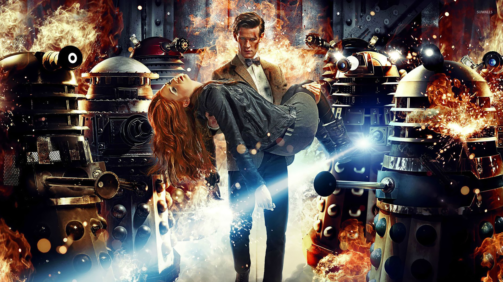 The Doctor and Amy Pond – Doctor Who wallpaper