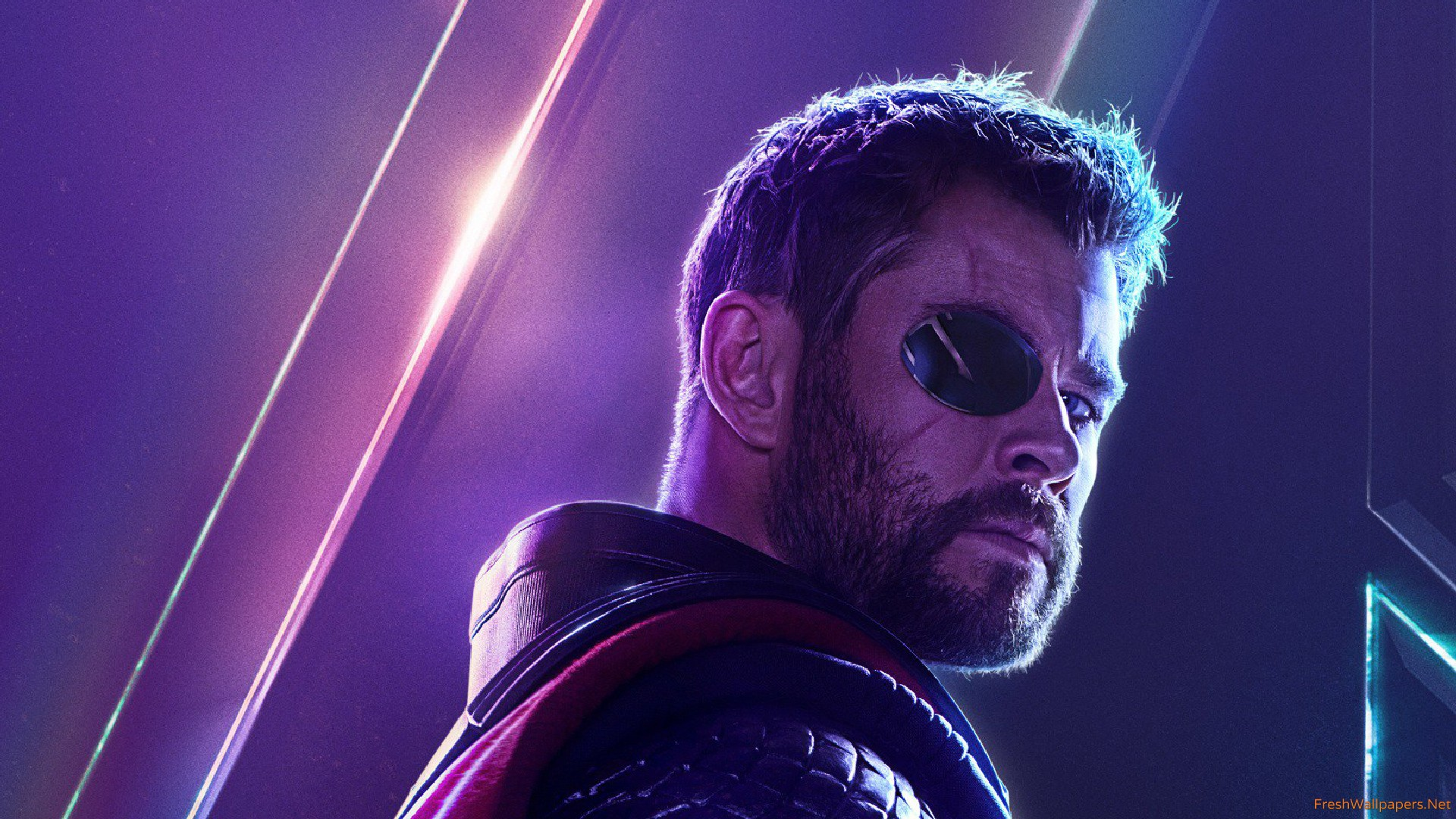 Thor In Avengers Infinity War New Poster wallpaper