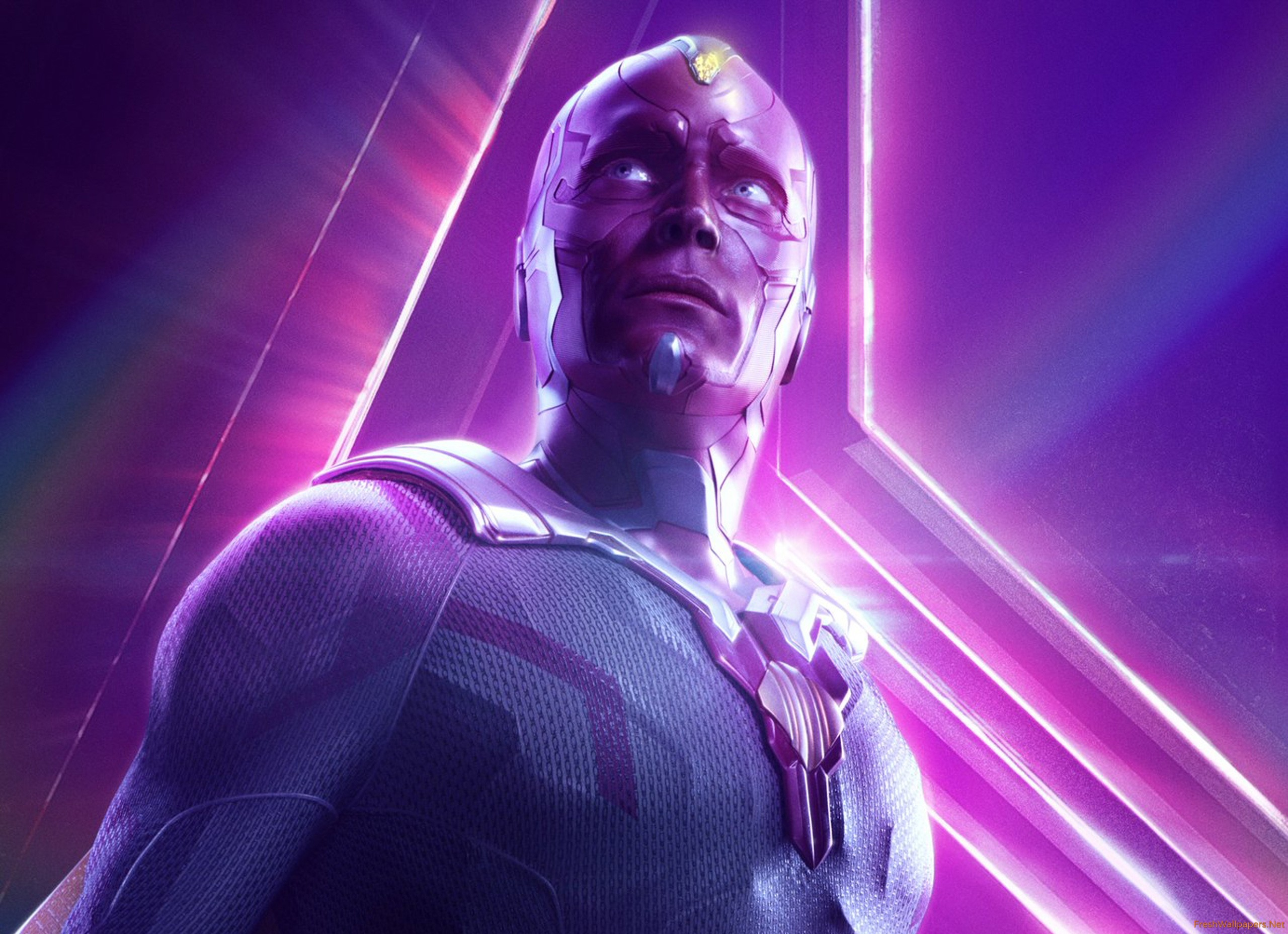 Vision In Avengers Infinity War New Poster wallpaper