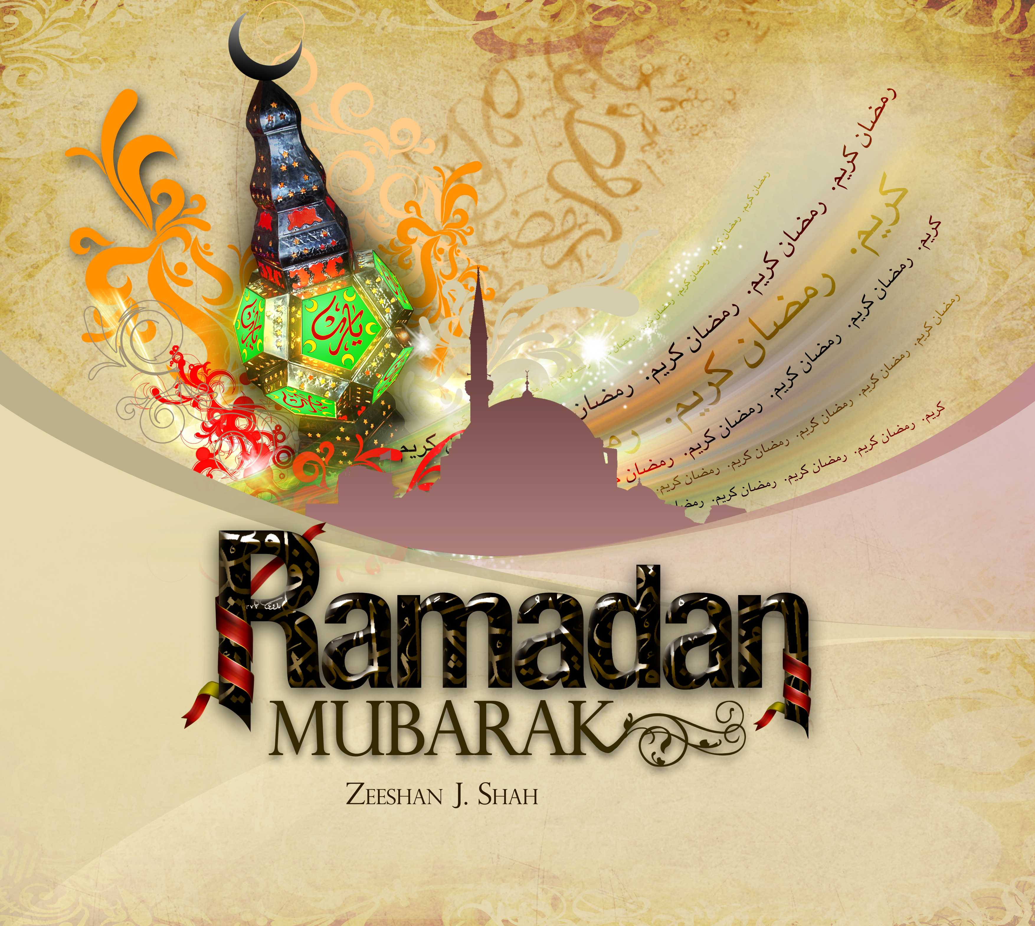 4K Islamic Ramadan Mubarak Desktop Backgrounds Image